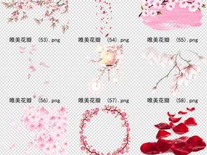 66款唯美古风桃花樱花玫瑰花素材图片 模板下载 62.27MB 其他大全 ...