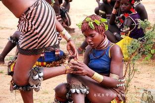 非洲部落用鞭打女人表达爱情