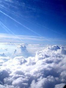 ...多败给了想象 唯美天空小清新图片