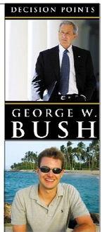 ...国总统的 影子写手 小布什自嘲能写本书
