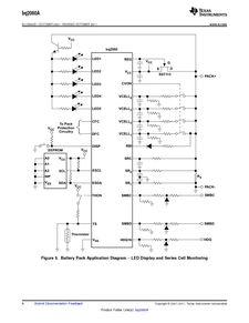 ...ents厂商 BQ2060A E619DBQG4 pdf预览第 8 页, datasheet数据手...