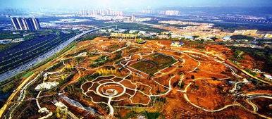 西安植物园新园区初具规模 预计明年年底建成开放