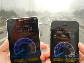 实地测速 中国电信4G网速对比移动4G网速