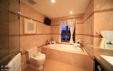 这装修真是高端大气上档次啊-华远的浴室真是高大上,真奢华啊