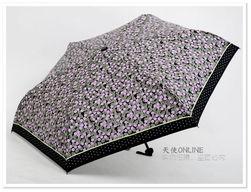 台湾彩虹屋 晴雨伞 遮阳伞 太阳伞 顶级防紫外线降温伞 繁花