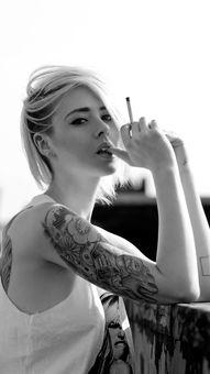 美女 欧美 纹身 金发 苹果手机高清壁纸 750x1334 爱思助手