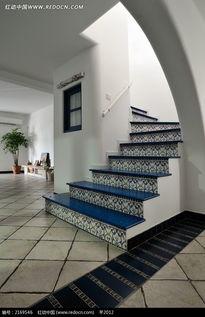 楼梯贴砖装饰图片免费下载 编号2169546 红动网