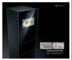 将出炉食物hh西门子升降式烤箱,以及嵌入式咖啡机、嵌入式酒