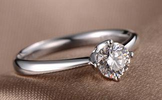 品牌戒指 钻石课堂