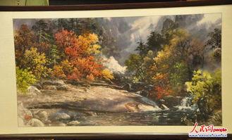 朝鲜美术作品展 150余幅作品栩栩如生