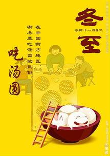 24节气之冬至吃饺子海报图片
