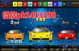 北京赛车微信群二维码pk1413198