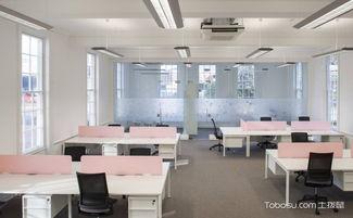 小户型办公室装潢设计图,紧凑有型怎么都好看-工装装修效果图案例...