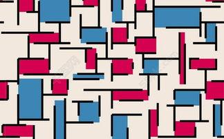 ...KB.-红蓝图块背景模板免费下载 ai格式 编号15917175 千图网