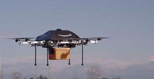 ...准备大规模小型无人送货飞机飞行器配送货物