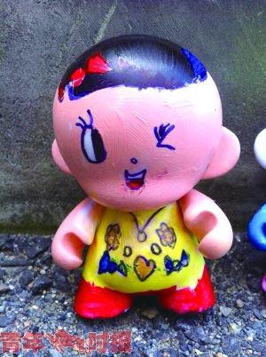 小BABY 小猴子 中国娃娃 创意 店庆宝宝 造型百变百大24周年庆100个 ...