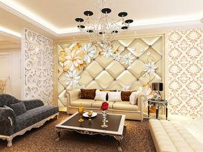 欧式华丽珠宝软包艺术背景墙