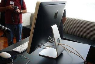 第四代苹果iMac电脑性感实物多图赏析