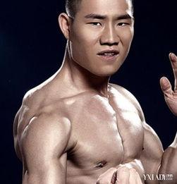 谢孟伟肌肉照片 嘎子哥 变身帅气型男 谢孟伟肌肉照片