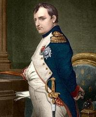 政、法兰西第一帝国皇帝,出生在法国科西嘉岛,是一位卓越的军事天...