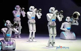 ... 史上最酷炫 机器人 空降
