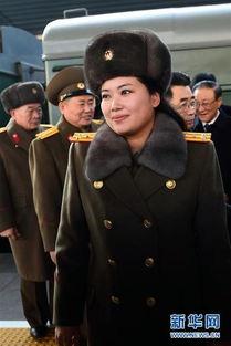朝鲜牡丹峰乐团抵京 美女如云