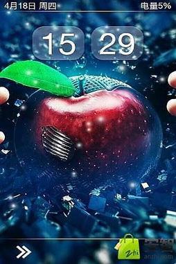 iPhone5动态锁屏壁纸