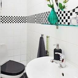 家庭厕所80平小户型装修案例-家庭厕所