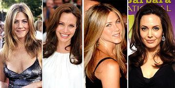 ... Jolie PK珍妮弗 安妮斯顿 Jennifer Aniston 谁是你心中的赢家