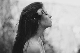 凄美图片灰色伤感系欧美女生精选