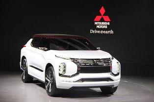 三菱SUV概念车 新一代电动技术及四轮控制技术