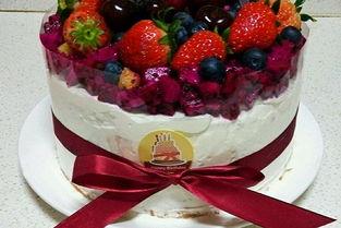 水果生日蛋糕的做法 水果生日蛋糕怎么做如何做好吃 水果生日蛋糕家...