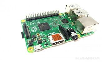 树莓派2上手 6倍性能 1GB内存