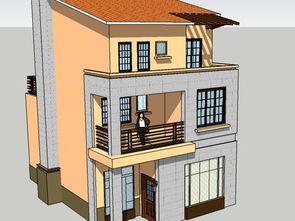 2018农村房子三层真实图片 房天下装修效果图