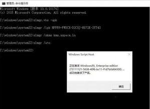 windows10 企业版 激活教程