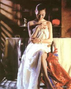 ...操冠军汤加丽 人体艺术绝对不是暴露