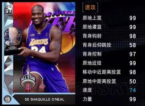 NBA2K16 MT模式全明星MVP奥尼尔解析 钻石奥尼尔怎么用