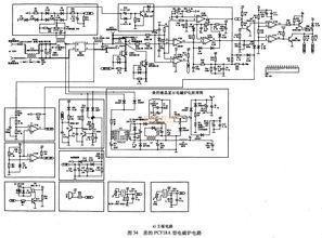 3.典型应用电路   MC68HC908J12集成电路在美