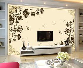 欧式花纹瓷砖电视背景墙装饰画图片设计素材 高清psd模板下载 11.43...