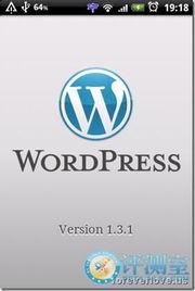 ...,贴子,页面,状态,添加和刷新-手机写博客 WordPress for ...