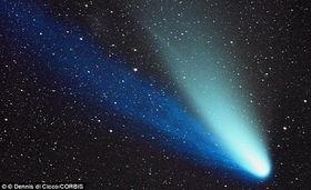 云的轨迹-...进入太阳系内侧轨道,天空中将出现明亮的天体-2013 最美彗星 将光...