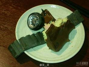 军迷口福巧克力蛋糕坦克细节超逼真