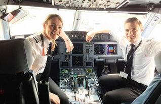 世界最年轻美女机长仅19岁 13岁学驾驶飞机