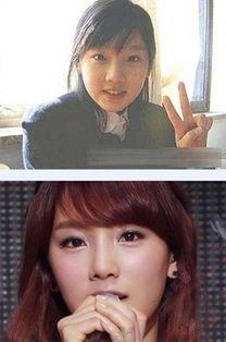 少女时代整容前后对比照 允儿金泰妍变化小SunnyTiffany判若两人