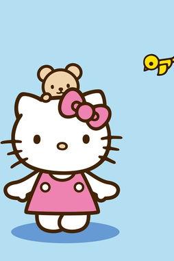 哈喽kitty图片 高清哈喽kitty手机壁纸