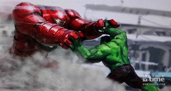 钢铁侠要和绿巨人干一架-复联2 曝细节 绿巨人裤衩可随意变大小