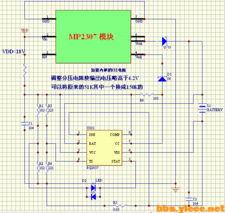 ...2307模块 BQ2057的2.5A充电电路实图