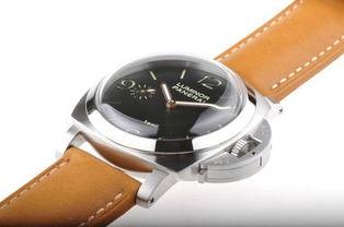 沛纳海 PAM127 专柜品质订制版棕色皮带欣赏