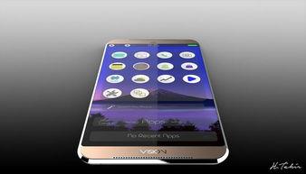 有HTC的味道 无边框金属机身新系统Vision概念曝光 IT业界
