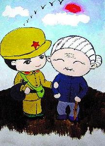 雷锋助人为乐-雷锋叔叔上卡通